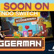 Switch版『Diggerman』が海外向けとして発売決定!アーケードスタイルの穴掘り2Dアクションゲーム