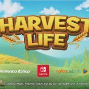 Switch版『Harvest Life』が海外向けとして2018年11月30日に発売決定!『牧場物語』風のファームシミュレーションゲーム