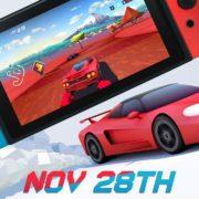 Switch版『Horizon Chase Turbo』の海外配信日が2018年11月28日に決定!アウトランなどから影響を受けたレースゲーム