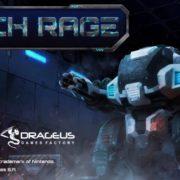 Switch版『Mech Rage』が海外向けとして2018年12月23日に配信決定!Sci-Fiトップダウンシューティングゲーム