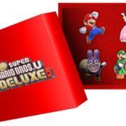 Nintendo UK Storeで「Newスーパーマリオブラザーズ U デラックス」の予約が開始!特典は『ピンバッジ セット』&『ポスターマップ』