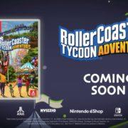Nintendo Switch版『RollerCoaster Tycoon』がヨーロッパで11月29日に、北米で12月13日に発売決定!遊園地経営シミュレーションゲーム