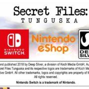 Switch版『Secret Files: Tunguska』が海外向けとして2018年11月30日に配信決定!「ツングースカ大爆発」をテーマとしたミステリーアドベンチャーゲーム