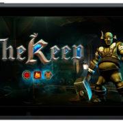 Switch版『THE KEEP』が海外向けとして2018年12月に配信決定!クラシックスタイルの3Dダンジョン探索RPG