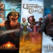 【更新】THQ Nordicが『Sphinx and the Cursed Mummy』と『The Book of Unwritten Tales 2』と『The Raven Remastered』をSwitch向けとしてリリースすることを発表!