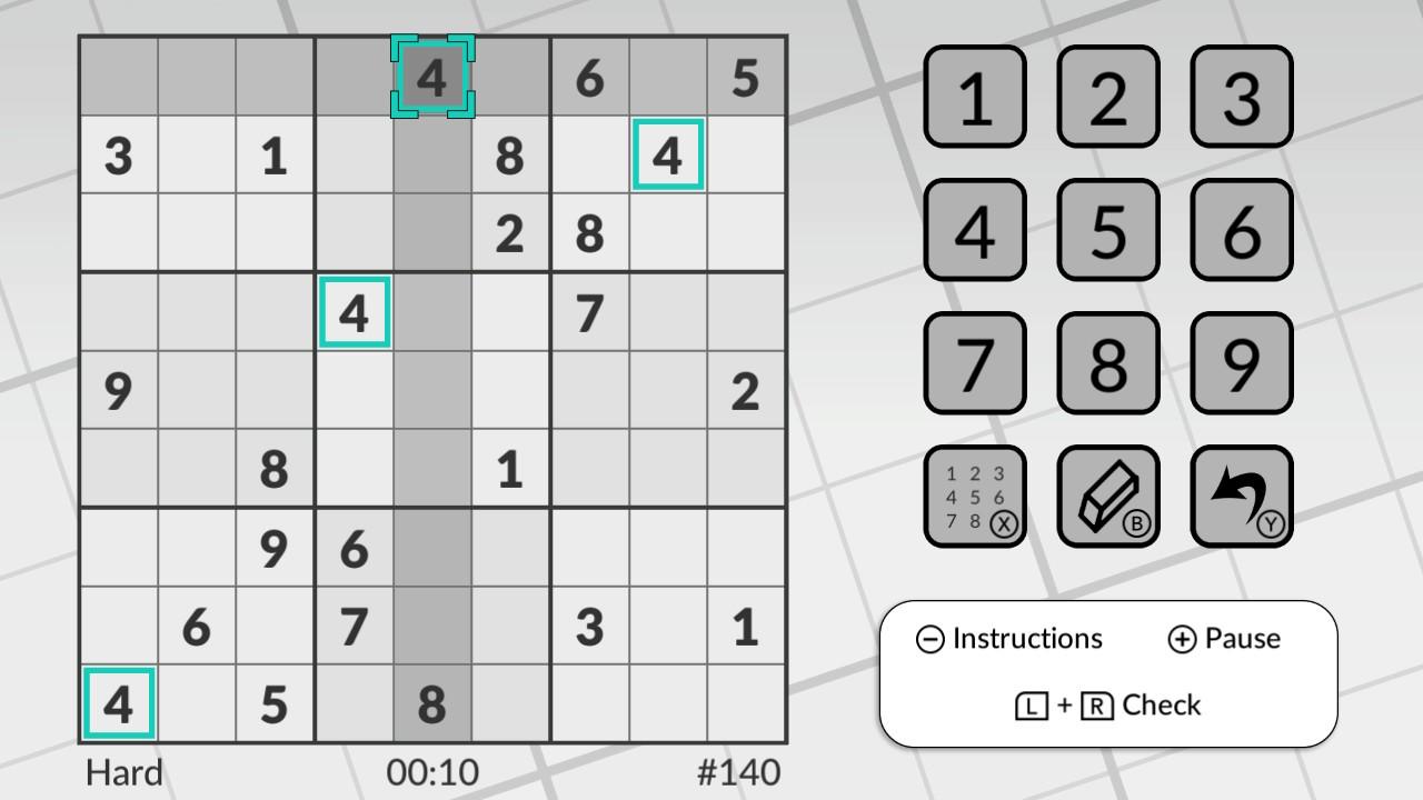 switch用ソフト word sudoku by powgi が海外向けとして2018年11月22日
