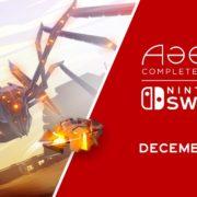 Switch版『Aaero: Complete Edition』が海外向けとして2018年12月24日に発売決定!絶賛されたリズム・レールシューター