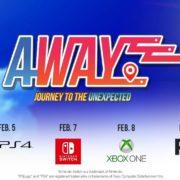 『AWAY: Journey to the Unexpected』の海外配信日が2019年2月に決定!『ドラゴンボール』から影響を受けた一人称視点のアドベンチャーゲーム