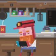 Switch版『Diggerman』の海外配信日が2018年12月24日に決定!アーケードスタイルの穴掘り2Dアクションゲーム