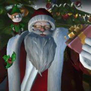神々が戦う対戦格闘ゲーム『Fight of Gods』のメリークリスマス トレーラーが公開!