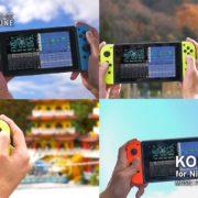 『KORG Gadget for Nintendo Switch』のVer.2.0が配信開始!ついにオンラインマルチプレイに対応