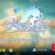 『RemiLore~少女と異世界と魔導書~』の海外発売日が2019年2月26日に決定!