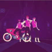 『SAYONARA WILD HEARTS』がNintendo Switch向けとして2019年に発売決定!レースゲームライクなリズムゲーム