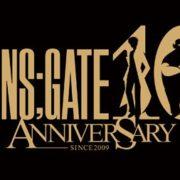 2019年で10周年を迎える『STEINS;GATE』の「10th anniversary」ロゴが公開!