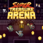 Switch版『Super Treasure Arena』の海外配信日が2018年12月24日に決定!アーケード+レトロスタイルのアクションシューティングゲーム