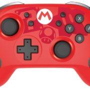 HORIから「ワイヤレスホリパッド for Nintendo Switch スーパーマリオ」が2018年12月に発売決定!