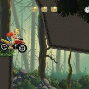 Switch版『Old School Racer 2』が海外向けとして2019年1月18日に配信決定!アクロバティックなバイクアクションゲーム
