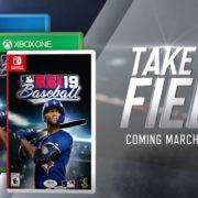 『R.B.I. Baseball 19』が海外向けとして2019年3月に発売決定!実在選手が登場する人気野球ゲームシリーズ