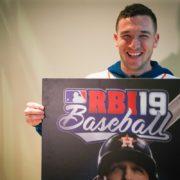 『R.B.I. Baseball 19』の米国版カバースターが「アレックス・ブレグマン」に決定!