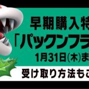 『大乱闘スマッシュブラザーズ SPECIAL』の早期購入特典『パックンフラワー』の受け取り方が公開!