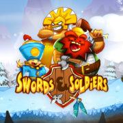 Switch版『Swords & Soldiers』が海外向けとして2019年1月25日に配信決定!横スクロール型のストラテジーゲーム