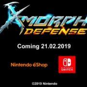 Switch版『X-Morph:Defense』が海外配信日が2019年2月21日に決定!戦略×破壊の新しいゲーム
