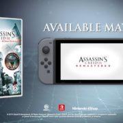 Switch用ソフト『Assassin's Creed III Remastered』が海外向けとして2019年5月21日に発売決定!