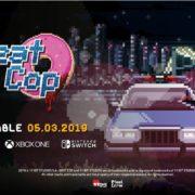 コンソール版『Beat Cop』が海外向けとして2019年3月5日に配信決定!ニューヨークを舞台にした80年代のポリスドラマ風アドベンチャーゲーム