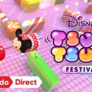 Nintendo Switch用ソフト『ディズニー ツムツム フェスティバル』が2019年に発売決定!