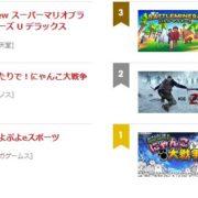 【日本】2019年1月31日~2月6日のSwitch eショップの売れ筋ランキングが公開!