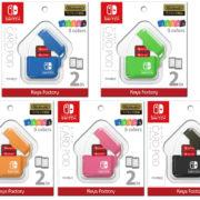 キーズファクトリーから『CARD POD for Nintendo Switch』が2019年5月に発売決定!