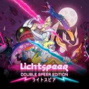 Switch用ソフト『Lichtspeer: Double Speer Edition』が2019年2月21日から配信開始!古代ゲルマン的な未来を舞台に光の槍を投げて進むアクションアーケードゲーム