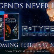 PS4&Switch版『R-Type Dimensions EX』のパッケージ版がStrictly Limited Gamesから発売決定!