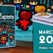 パッケージ版『The Escapists: Complete Edition』がSwitch向けとして発売決定!