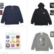 「任天堂ライセンスグッズ大集合」で販売されたトレーナー&パーカー類がヨドバシ.comにて数量限定で販売開始!