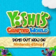 Switch用ソフト『ヨッシークラフトワールド』のDemo Trailerが公開!