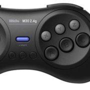 サイバーガジェットからSwitchにも対応したコントローラー『8BitDo M30 Bluetooth Wireless GamePad』と『8BitDo M30 2.4G Wireless GamePad for MD』が4月下旬に発売決定!