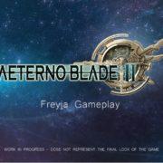 『AeternoBlade 2』のFreyja's Basic Combatトレーラーが公開!