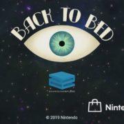 Switch版『Back to Bed』の国内配信が決定!PS4やWii Uでもリリースされた芸術的な3Dパズルゲーム