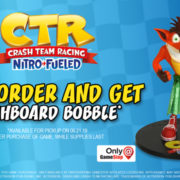『Crash Team Racing Nitro-Fueled』のGameStop予約特典が「Dashboard Bobble」に決定!
