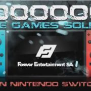 Forever EntertainmentがNintendo Switchで100万本のソフトが販売されたことをTwitterで報告!