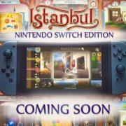 Switch版『Istanbul: Digital Edition』が海外向けとして2019年3月28日に配信決定!人気ボードゲームのデジタル版