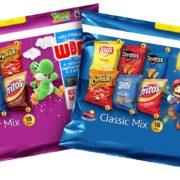 米任天堂がFrito-Layと提携して「Frito-Lay Variety Pack」にSwitchの人気キャラクターを登場させることを発表!
