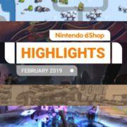 『Nintendo eShopハイライト 2019年2月号』がNintendo of Europeから公開!