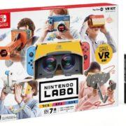 『Nintendo Labo Toy-Con 04: VR Kit』の7分間プレイ動画が公開!