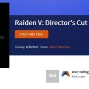 Switch版『雷電V Director's Cut』がGameFlyの小売業者リストに掲載される!