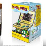 手のひらサイズのミニチュア筐体風ゲーム機「レトロアーケード」シリーズより『エレベーターアクション』『バブルボブル』『ローリングサンダー』が2019年6月に発売決定!
