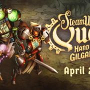 『SteamWorld Quest: Hand of Gilgamech』の発売日が2019年4月25日に正式決定!