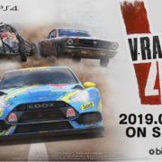 PS4&Switch用ソフト『V-Rally 4』のゲーム紹介トレーラー&バギー紹介 トレーラーが公開!