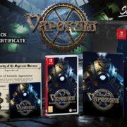 Switch版『Vaporum』のパッケージ版がSignature Edition Gamesから発売決定!独自のスチームパンクな世界観を特徴とするグリッド型ダンジョン探索RPG